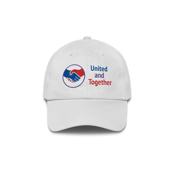 United And Together Cotton Hat